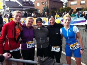 v.r. Kristina, Ines, Anke, Kerstin und ich (Ulla fehlt noch auf dem Foto)