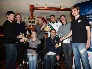 Erfolgreiche tolle Sportlerinnen und Sportler im Gaffel am Dom